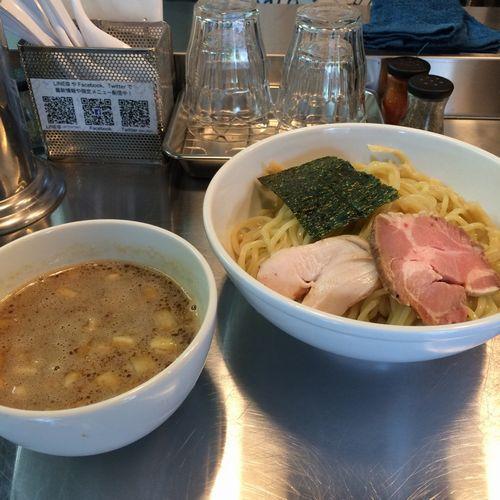 鰹×豚つけ麺1