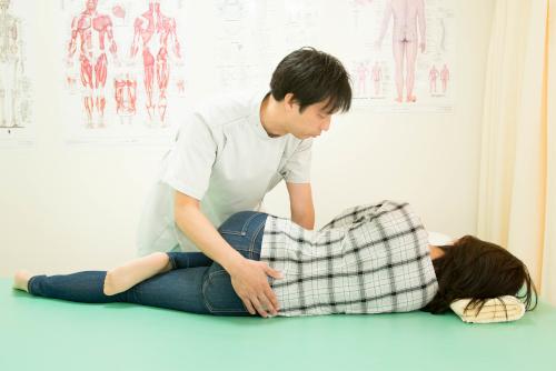 腰と骨盤の調整